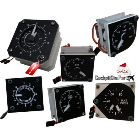 B737 Overhead gauges package