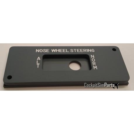Nose Wheel Steering panel