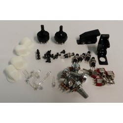 Captain side MIP Switches & knobs Kit