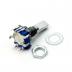 4x 12MM ROTARY ENCODER PUSH BUTTON SWITCH