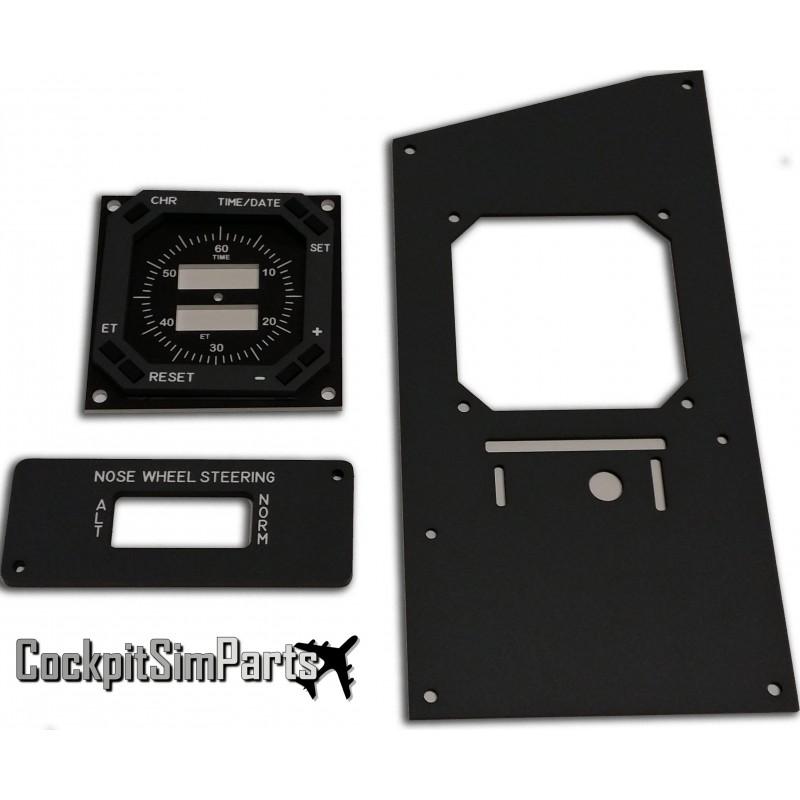 Captain Chronometer panel - Cockpit Sim Parts LTD