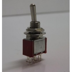 Miniature Toggle Switches (spring loaded) ON MOM/OFF/ ON MOM