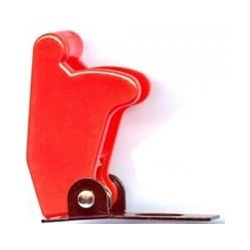Boeing 737 Aircraft Style Toggle Switch Flip Up Guard RED
