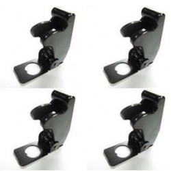 4x Boeing 737 Aircraft Style Toggle Switch Flip Up Cover Black
