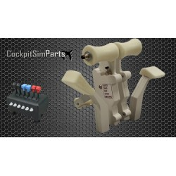 CH Throttle Levers Pro edition white