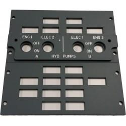 Overhead HYD Pumps Panel (Grey)