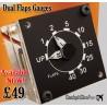 B737 Flaps Gauge Dual needle